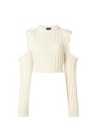 hellbeige Strickpullover von Calvin Klein 205W39nyc