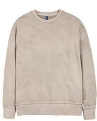 hellbeige Sweatshirt