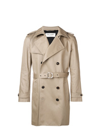 hellbeige Trenchcoat von Saint Laurent