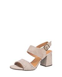 hellbeige Wildleder Sandaletten von Billi Bi