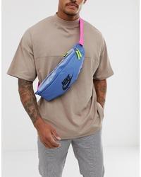hellblaue Bauchtasche von Nike