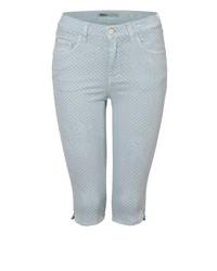 hellblaue Bermuda-Shorts aus Jeans von Angels