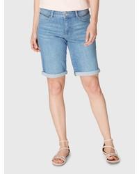 hellblaue Bermuda-Shorts aus Jeans von Bonita