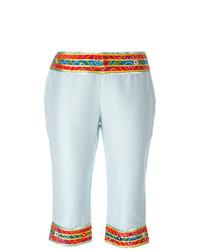 hellblaue Bermuda-Shorts von Dolce & Gabbana Vintage