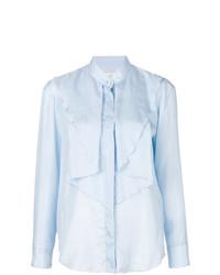 hellblaue Bluse mit Knöpfen von Golden Goose Deluxe Brand