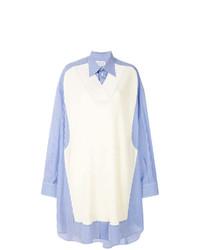 hellblaue Bluse mit Knöpfen von Maison Margiela