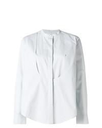 hellblaue Bluse mit Knöpfen von Maison Rabih Kayrouz