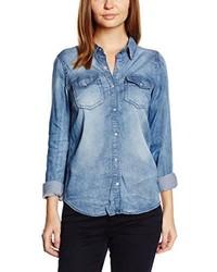 hellblaue Bluse von VILA CLOTHES