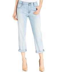 hellblaue Boyfriend Jeans