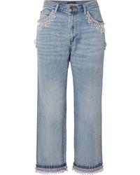 hellblaue Boyfriend Jeans von Marc Jacobs