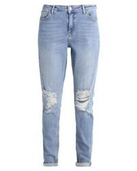 hellblaue Boyfriend Jeans von Topshop