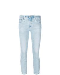 hellblaue enge Jeans von AG Jeans