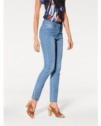 hellblaue enge Jeans von ASHLEY BROOKE by Heine