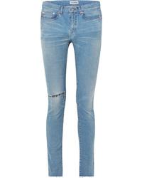 hellblaue enge Jeans von Balenciaga