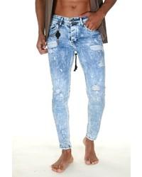 hellblaue enge Jeans von Bright Jeans