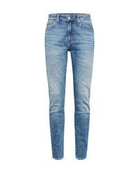 hellblaue enge Jeans von Calvin Klein