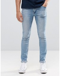 hellblaue enge Jeans von Cheap Monday