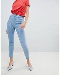 hellblaue enge Jeans von Chorus