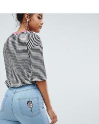 hellblaue enge Jeans von Chorus Tall
