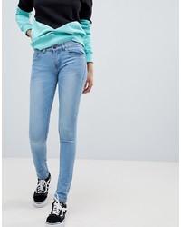 hellblaue enge Jeans von Criminal Damage
