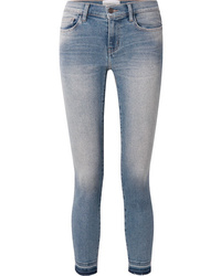 hellblaue enge Jeans von Current/Elliott