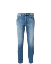 hellblaue enge Jeans von Diesel
