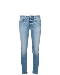 hellblaue enge Jeans von Dondup