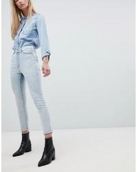 hellblaue enge Jeans von Dr. Denim