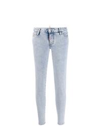 hellblaue enge Jeans von Dsquared2