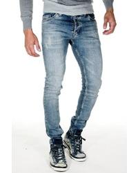 hellblaue enge Jeans von EX-PENT