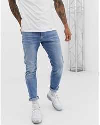 hellblaue enge Jeans von G Star