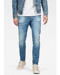 hellblaue enge Jeans von G-Star RAW
