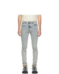 hellblaue enge Jeans von Gucci