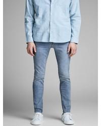 hellblaue enge Jeans von Jack & Jones