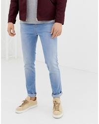 hellblaue enge Jeans von LDN DNM