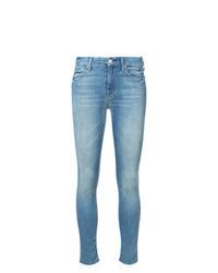 hellblaue enge Jeans von Mother