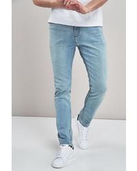 hellblaue enge Jeans von next