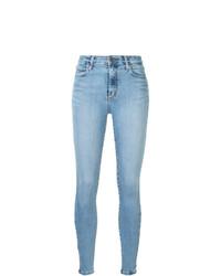 hellblaue enge Jeans von Nobody Denim