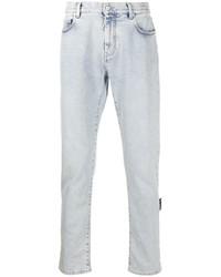 hellblaue enge Jeans von Off-White