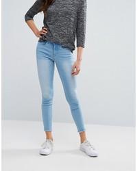hellblaue enge Jeans von Only