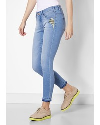hellblaue enge Jeans von PADDOCK´S