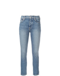 hellblaue enge Jeans von RE/DONE