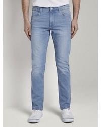 hellblaue enge Jeans von Tom Tailor