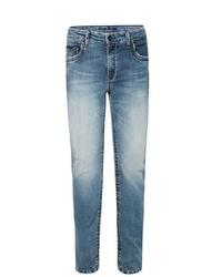 hellblaue Jeans mit Destroyed-Effekten von Camp David