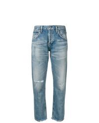 hellblaue Jeans mit Destroyed-Effekten von Citizens of Humanity