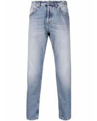 hellblaue Jeans mit Destroyed-Effekten von Eleventy