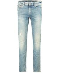 hellblaue Jeans mit Destroyed-Effekten von GARCIA