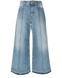 hellblaue Jeans von Alexander McQueen
