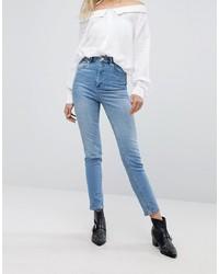 hellblaue Jeans von ASOS DESIGN