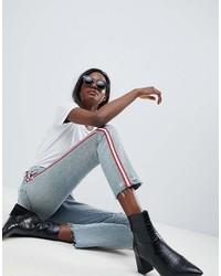 hellblaue Jeans von Blank NYC